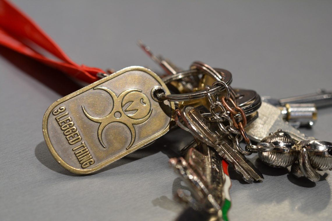 Custom Made Keyrings