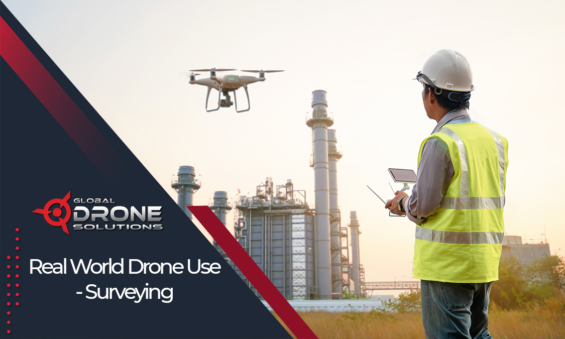 training drone flying