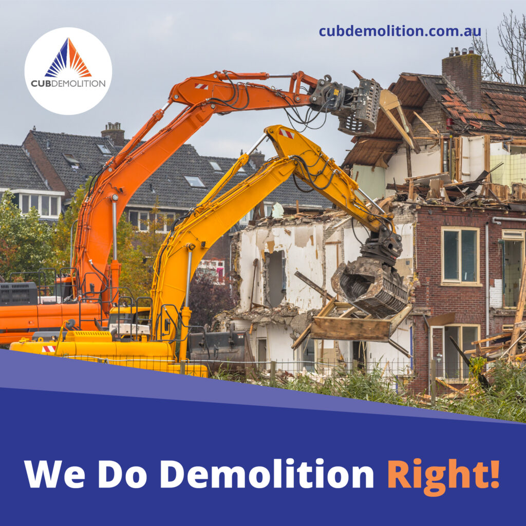 Local Demolition Contractors Newcastle