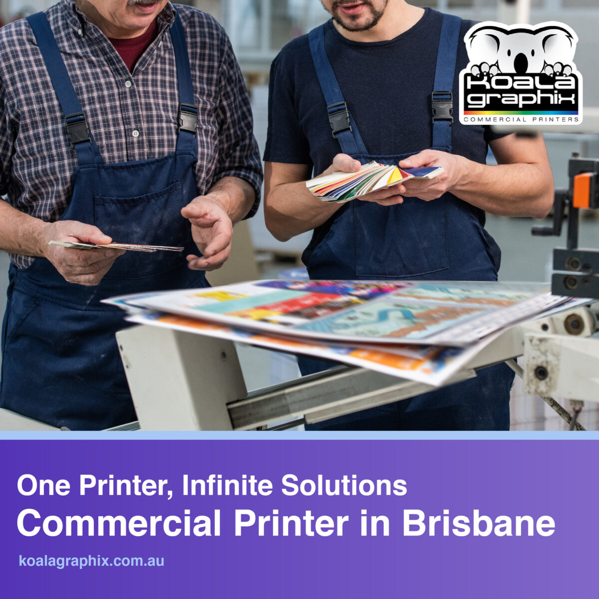 printers in Brisbane commercial