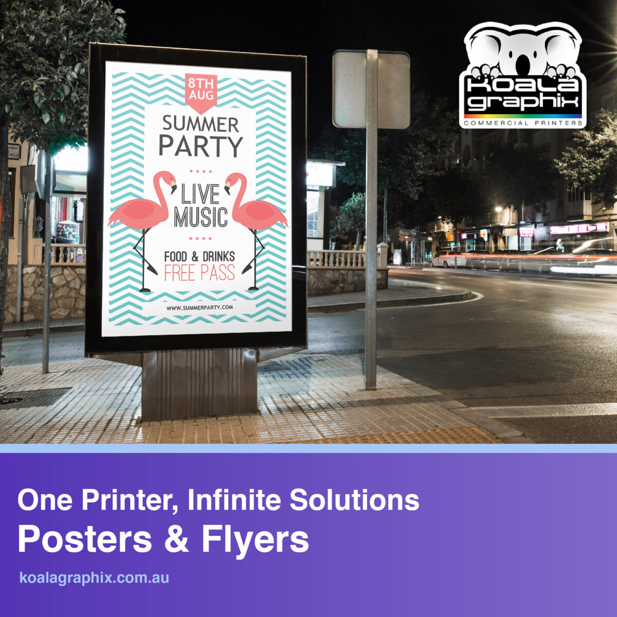 in Brisbane Commercial printer