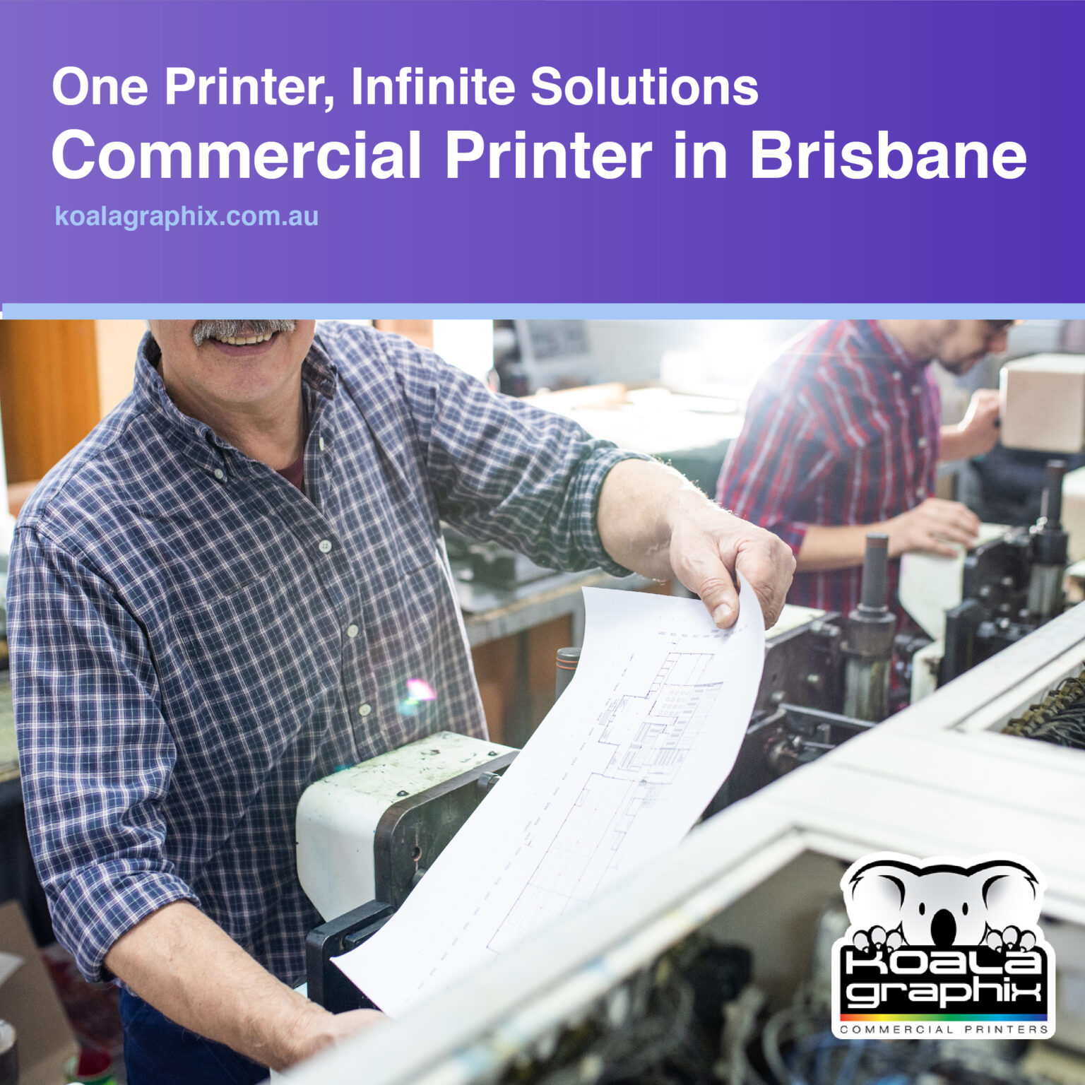 Brisbane commercial printer
