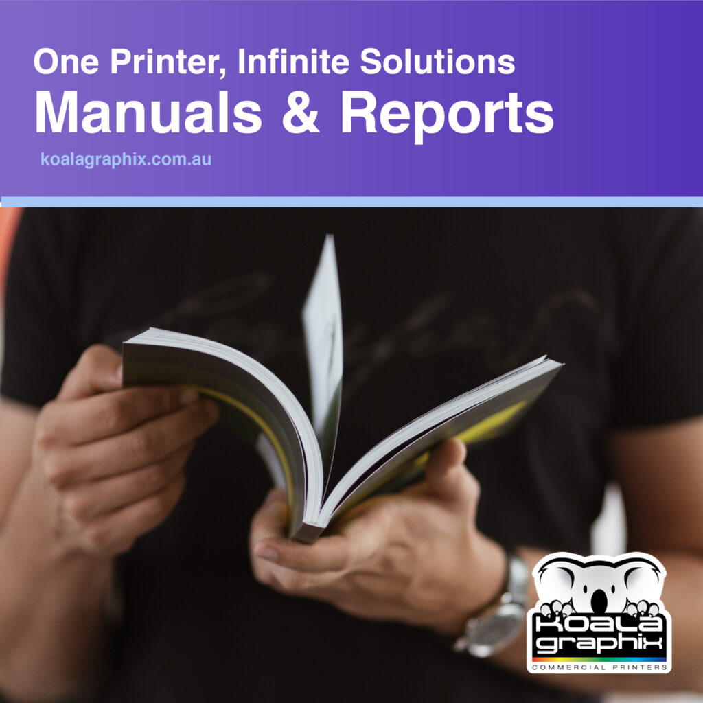 Printed Manuals and Reports