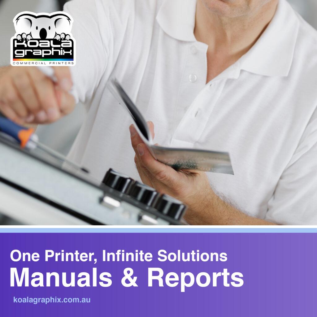 Printed Manuals Brisbane