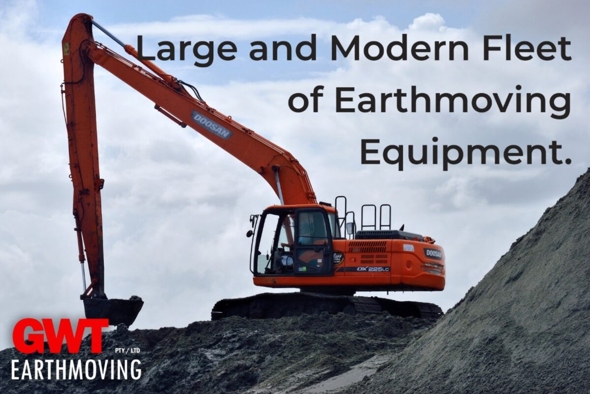 hire in Brisbane earthmoving plant